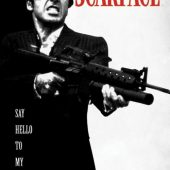 Scarface 24 x 36 inch Movie Poster (1983)