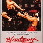 Bloodsport 24 x 36 inch Movie Poster (1988)