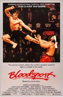 Bloodsport 24 x 36 inch Movie Poster (1988)