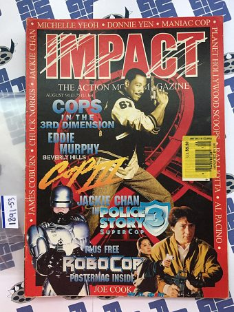 Impact Action Movie Magazine August 1994 – Eddie Murphy, Jackie Chan, RoboCop Poster [189153]