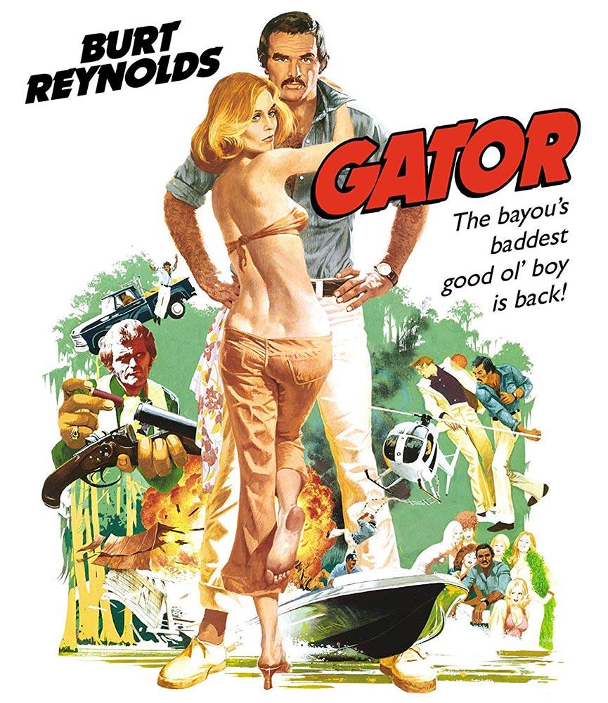Burt Reynolds Gator Special Edition Blu-ray