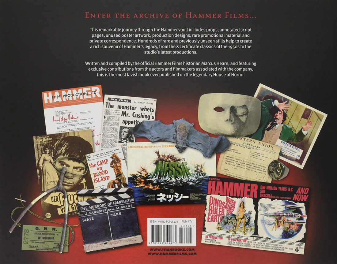 The Hammer Vault: Treasures from the Archive of Hammer Films (revised and updated hardcover edition)