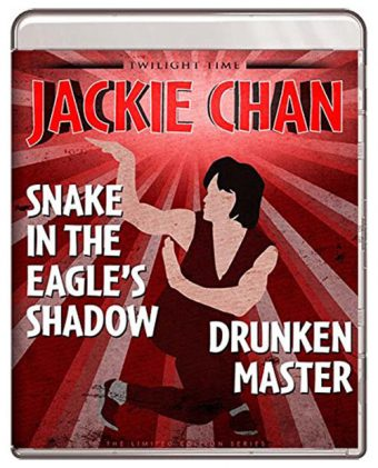 Jackie Chan Snake In The Eagle's Shadow / Drunken Master Double Feature Limited Edition Blu-ray