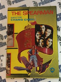 The Spearman (The Flag of Iron) Original Press Booklet Chang Cheh (1980) [LBY05]