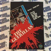 The Guerillas (The Rebel Intruders) Original Press Booklet, Lo Meng (1980) LBY15