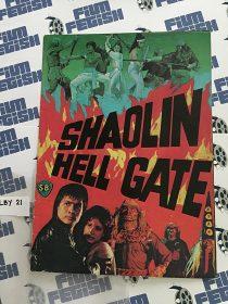 Shaolin HellGate Original Press Booklet, Fu Sheng, Shaw Brothers (1980)