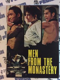 Men From The Monastery (Disciples of Death) Original Movie Program (1974) LBY42