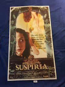 Dario Argento's Suspiria 23×40 inch Original VHS Video Release Movie Poster (1977)