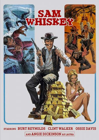 Burt Reynolds Sam Whiskey DVD Edition