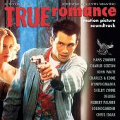 True Romance Motion Picture Soundtrack 25th Anniversary Limited Clear with White Splatter Vinyl Edition