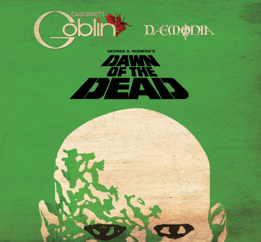 Claudio Simonetti's Goblin Dawn Of The Dead 2-Disc CD Set Soundtrack 40th Anniversary Edition