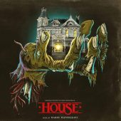 House 1 and 2 Original Motion Picture Soundtracks by Harry Manfredini Vinyl 2-LP Set