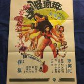 The Tigress of Shaolin 21×31 inch Original Movie Poster (1979)