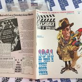 Flashback Magazine No. 3 September 1972 Jack Davis Humphrey Bogart Woody Woodpecker