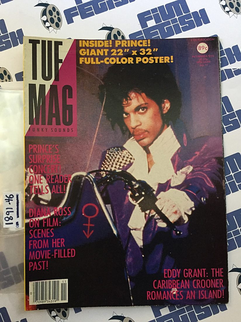 Tuf Mag Poster Magazine Number 11 – Prince (1984) 189146