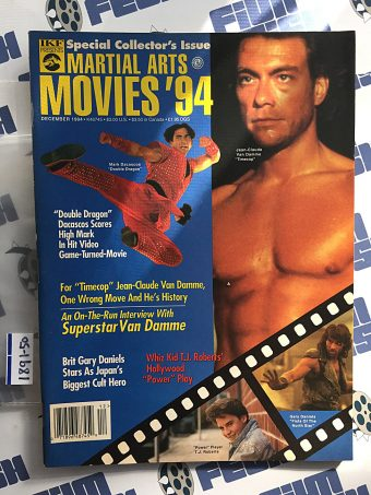 Inside Kung Fu Presents: Martial Arts Movies 1994 Special Collector's Issue [189150]