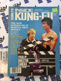 Inside Kung Fu – Bruce Lee, Jackie Chan, Chuck Norris Cover (September 1983) [189151]