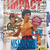 Impact Magazine April 1995 Bruce Lee Cover Van Damme Jackie Chan