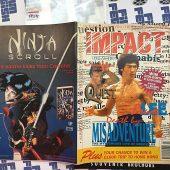 Impact Magazine April 1995 Bruce Lee Cover Van Damme Jackie Chan