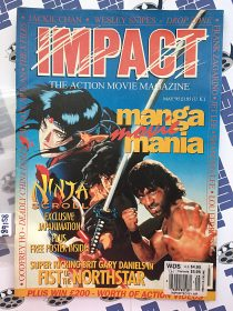 Impact Magazine May 1995 Manga Movie Mania Ninja Scroll