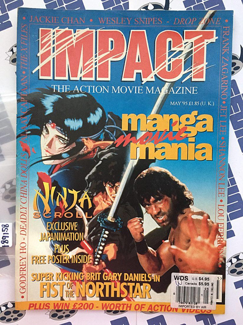 Impact Magazine May 1995 Manga Movie Mania Ninja Scroll