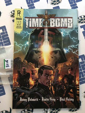 Time Bomb Comic 1 of 3 by Jimmy Palmiotti, Justin Gray (2011) [BK06]