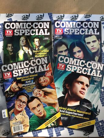 TV Guide Comic Con Special 4-Issue Limited Edition Covers Set (2010) [BK13]
