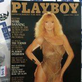 Playboy Magazine August 1983 Sybil Danning [BK18]