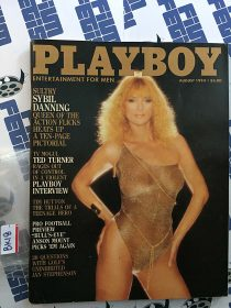 Playboy Magazine August 1983 Sybil Danning [BK18]