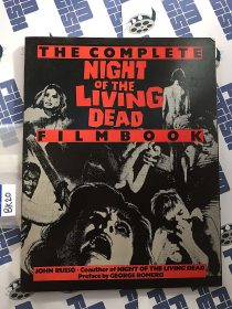 Night of the Living Dead Filmbook First Edition (1985) [BK20]