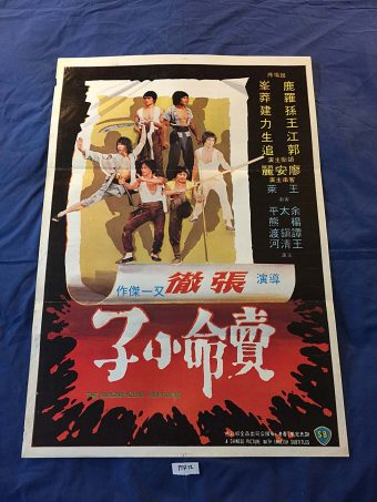The Magnificent Ruffians 21×31 Original Movie Poster, Lo Meng, Chang Cheh