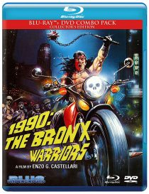 1990: The Bronx Warriors Blu-ray + DVD Collector's Edition Combo Pack