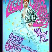 David Bowie Ziggy Stardust 16×23 inch Bob Masse Music Poster