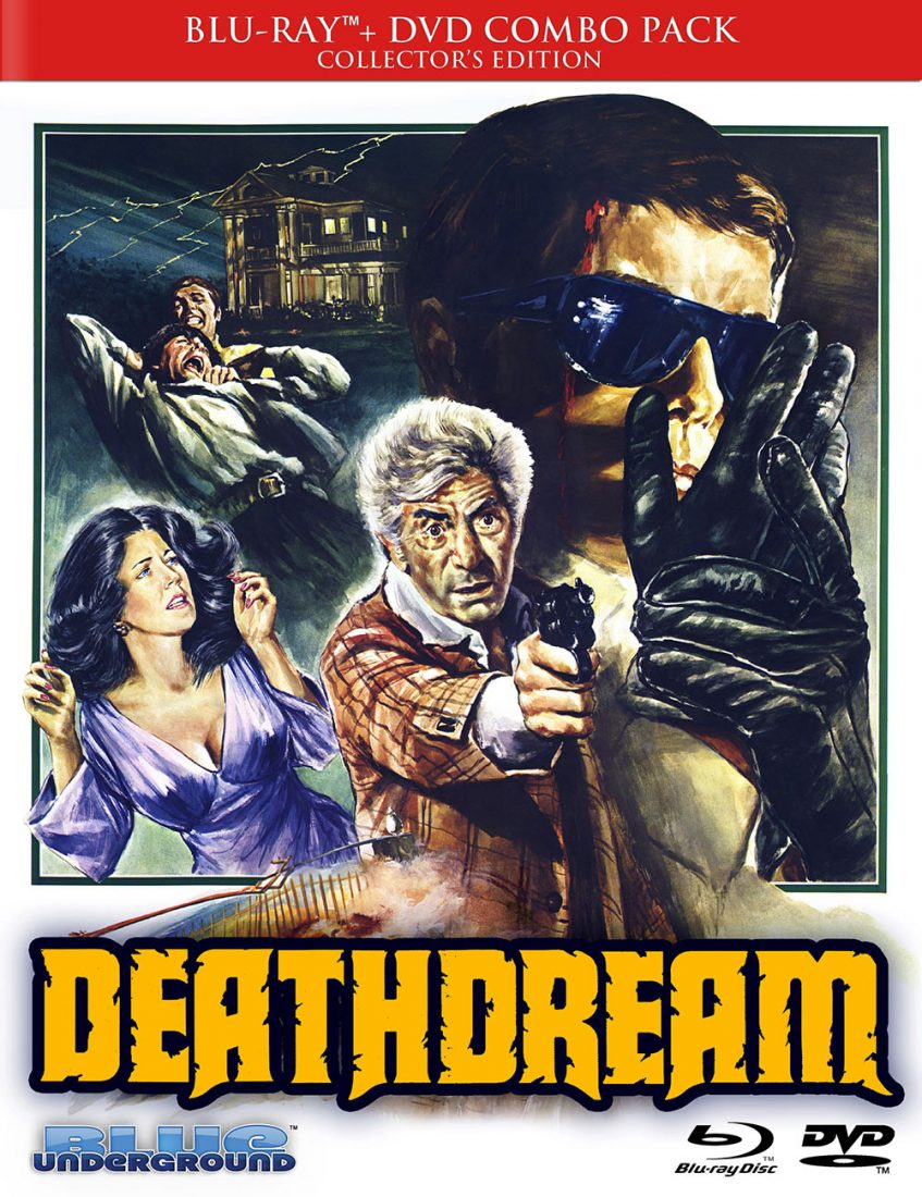 DeathDream Limited Edition Blu-ray DVD Collector's Edition Combo Pack