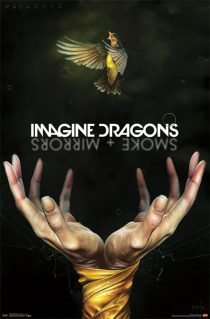 Imagine Dragons Smoke and Mirrors 23×35 inch Music Poster