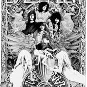 Led Zeppelin Madison Square Garden 18×24 inch Rock Music Concert Poster