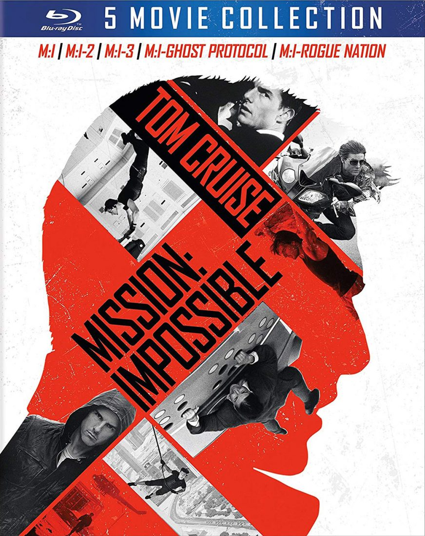 Mission: Impossible 5 Movie Blu-ray Collection