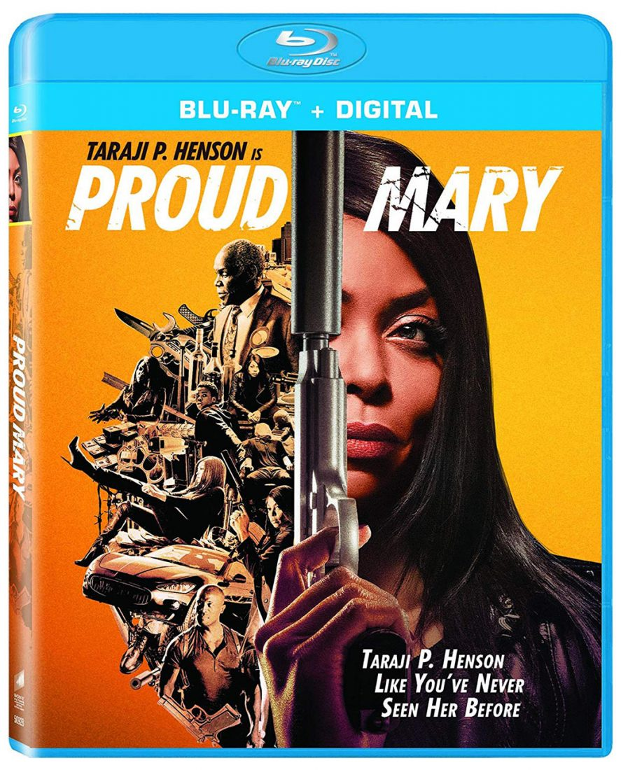 Proud Mary Blu-ray + Digital Edition