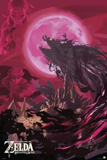The Legend of Zelda – Blood Moon 24 X 36 inch Game Poster