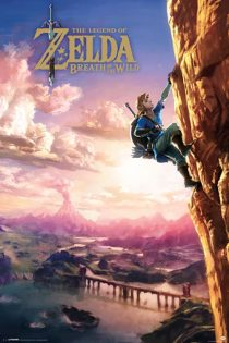 The Legend of Zelda – Breath of the Wild, Climbing 24 X 36 inch Game Poster