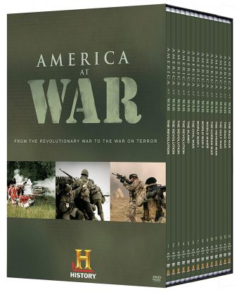 America at War 14-Disc DVD Megaset