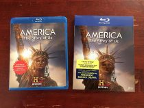 America The Story of Us 3-Disc Blu-ray Box Set with Slipcover
