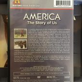America The Story of Us 4-DVD Collector's Edition Box Set with Companion Book