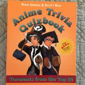 Anime Trivia Quizbook: Episode 2 – Torments from the Top 20