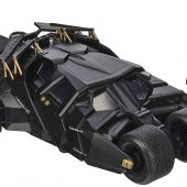 Jada Toys The Dark Knight 1:24 Scale Die-Cast Metal Batmobile and Batman