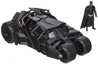 Jada Toys The Dark Knight 1:24 Scale Die-Cast Metal Batmobile and Batman
