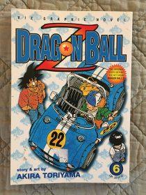 Dragon Ball Z Volume 6 – Akira Toriyama Manga (2001)