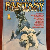 Frank Frazetta Fantasy Illustrated Magazine Issue Number 1 (Spring 1998)