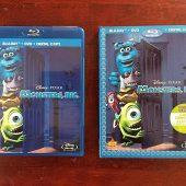 Disney Pixar's Monsters Inc. Blu-ray + DVD with Slipcover