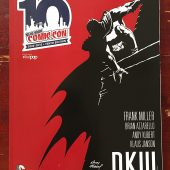 New York Comic Con 10th Anniversary Program Guide with Andy Kubert Batman Cover Art
